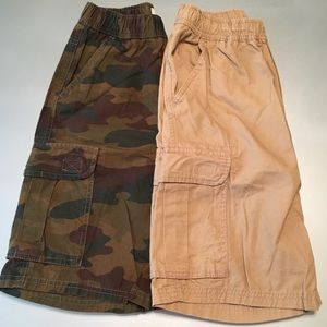 Set of 2:  The Children's Place Cargo Shorts